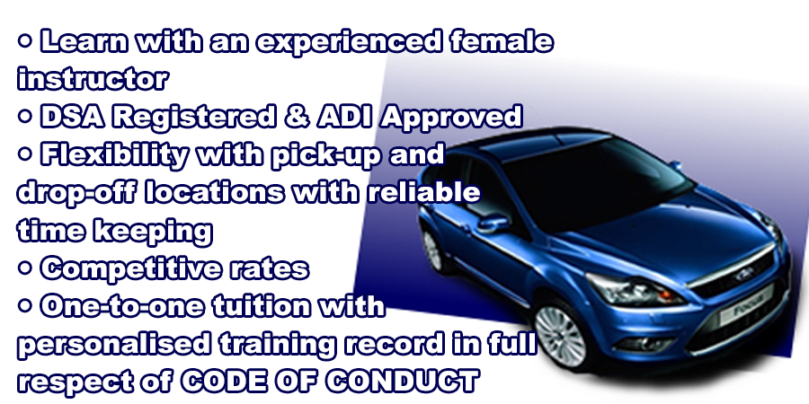 Driving lessons with Confidentdrive